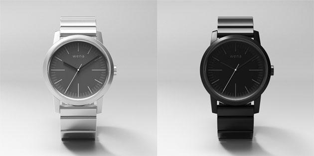 Sony Wena Wrist, orologio smart finanziato col crowdfunding