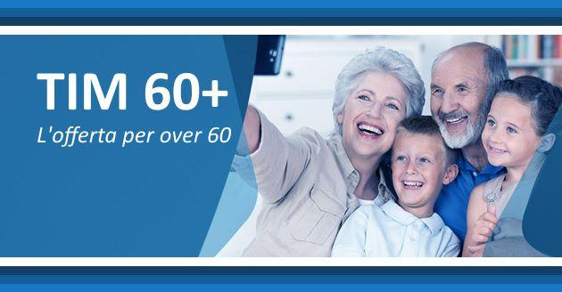 Tim 60 Piu', offerta senza SMS dedicata ai clienti Over 60