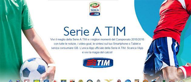 Serie A TIM 2016-17, presentazione calendario in diretta sullo smartphone
