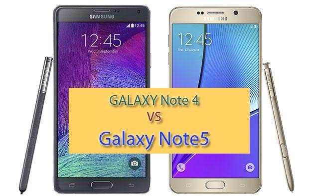 Samsung Galaxy Note 5 vs Note 4: Confronto tecnico completo