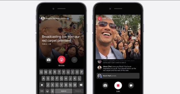 Facebook Live per tutti gli utenti, sia iOS che Android