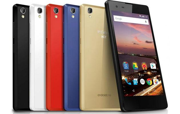 Infinix Hot 2, primo telefono Android One in Africa