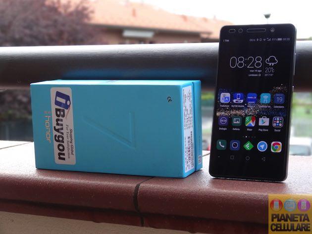 Recensione Huawei Honor 7, vero Top di gamma del momento