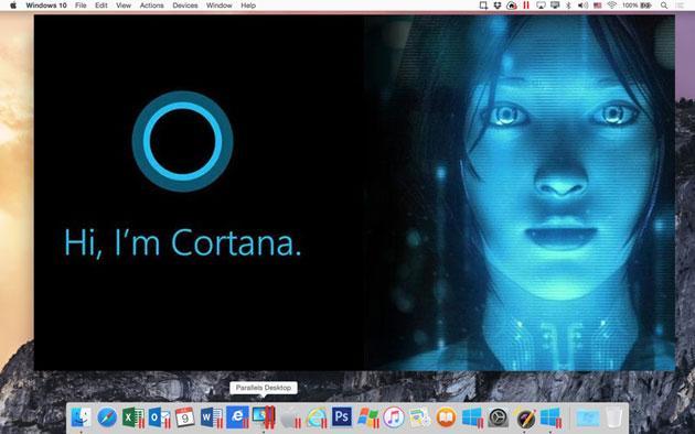 Parallels Desktop 11 porta Cortana di Microsoft su MAC prima di Siri