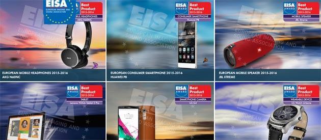 EISA Awards 2015: Huawei P8 eletto miglior smartphone consumer