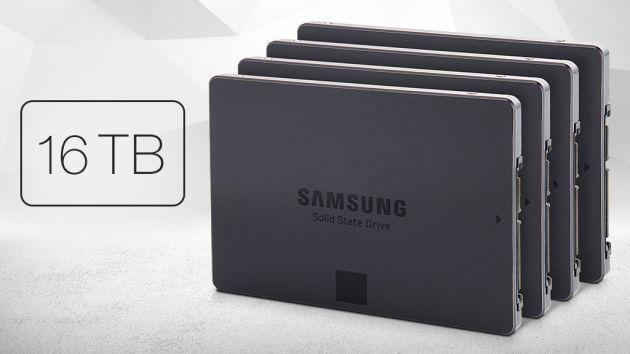 Samsung presenta Hard Disk da 16 Terabyte SSD