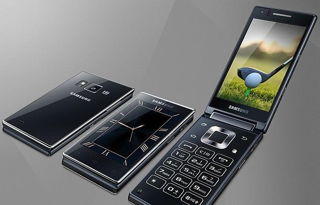 samsung g9198 nuovo smartphone a conchiglia con doppio