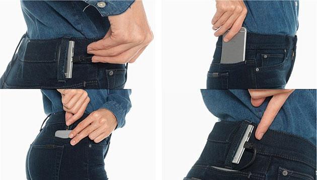 Hellojeans, Jeans con tasche per ricaricare Smartphone