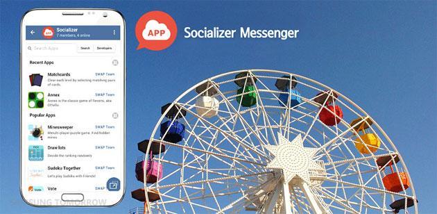 Samsung lancia Socializer Messenger basato su Telegram per Android