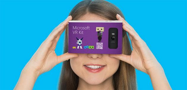 Microsoft VR Kit per portare la Realta' Virtuale su Windows Phone