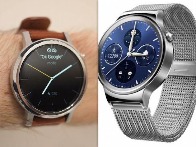 Nuovo Motorola Moto 360 e Huawei Watch disponibili in Italia
