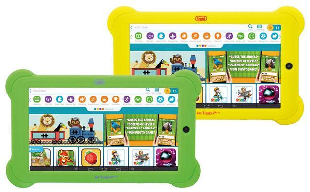 Trevi Tablet Pc KidTab 7 C16 per Giochi e Apprendimento dei bambini