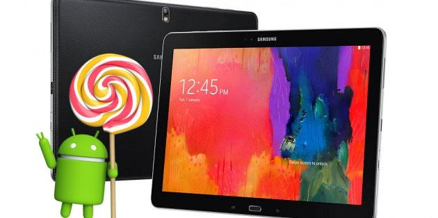 Samsung Galaxy Tab Pro 12.2 riceve Android Lollipop 5.1.1