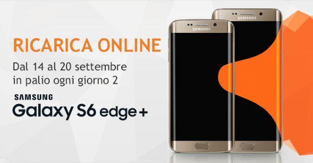 Wind, Ricarica e Vinci due Samsung Galaxy S6 Edge+ al giorno