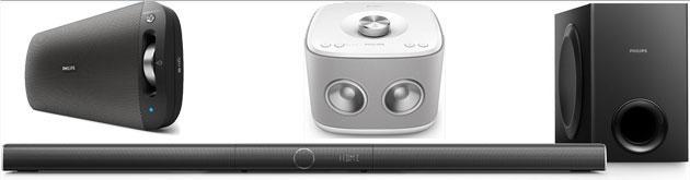 Philips a IFA 2015 lancia nuovi sistemi Audio Multiroom, Soundbar e speaker portatili Bluetooth