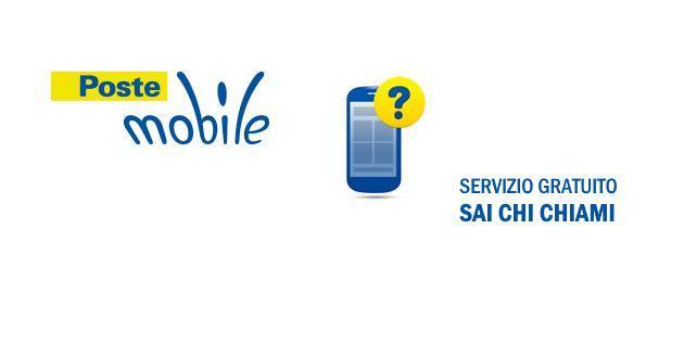 PosteMobile, servizio Sai Chi Chiami per scoprire se un numero e' PosteMobile