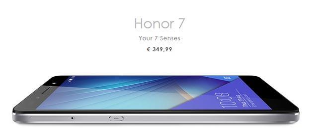 Honor 7, vendita Flash il 21 Settembre con sconto di 50 euro