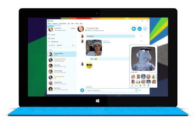 Skype si aggiorna ed introduce nuove Emojii con Minions e Muppet