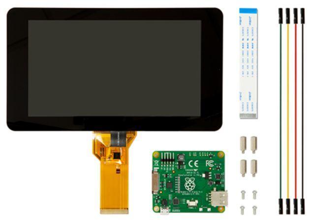 Raspberry Pi: Un display touchscreen dedicato da 7 pollici