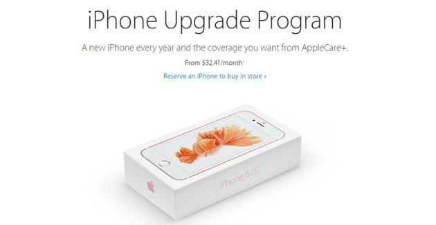 Apple iPhone Upgrade Program per cambiare iPhone ogni anno