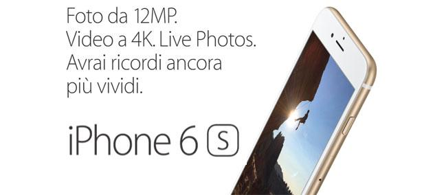Apple iPhone 6s: fotocamera a confronto con precedenti iPhone