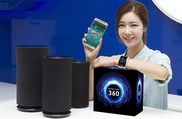 Samsung, nuovi diffusori Wireless Audio 360 R5, R3 e R1