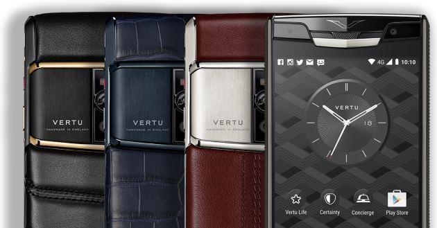 Vertu Signature Touch, 2a generazione in vendita da 8.900 euro - Fotogallery