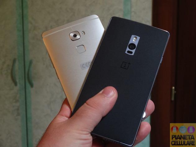 Huawei Mate S vs OnePlus 2, il nostro confronto