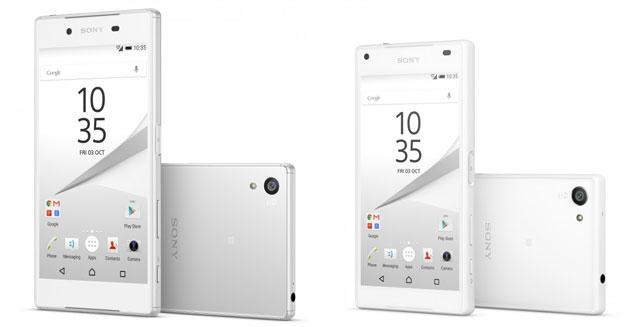 Sony Xperia Z5 e Z5 Compact disponibili in Italia da 599 Euro