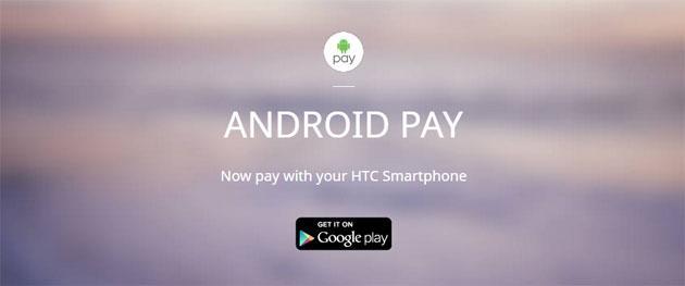 HTC: elenco smartphone compatibili Android Pay negli USA