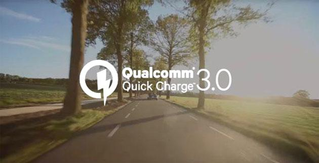 Qualcomm Quick Charge 3.0 annunciato: batteria carica all'80 per cento in 35 minuti