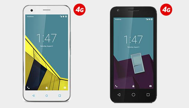 Vodafone Smart Speed e Ultra, smartphone 4G da 99 euro
