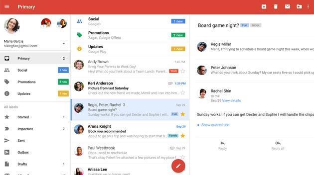 Gmail su Android riceve opzioni Blocca Mittente e Cancellati