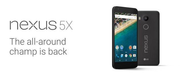 LG Nexus 5X svelato: Foto, specifiche e Prezzi