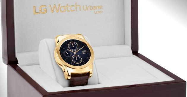 LG mostra Watch Urbane Luxe a IFA, smartwatch in oro a 23 carati - Fotogallery