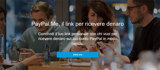 PayPal.Me, richiedere denaro con un Link