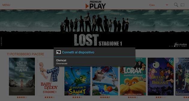 Premium Play di Mediaset su Chromecast: come funziona e si usa