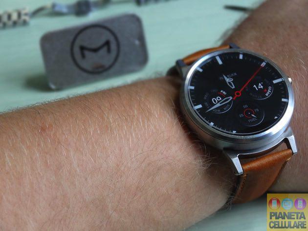 Recensione Steelconnect Motorola Moto 360, cinturini Standard e nuovo design