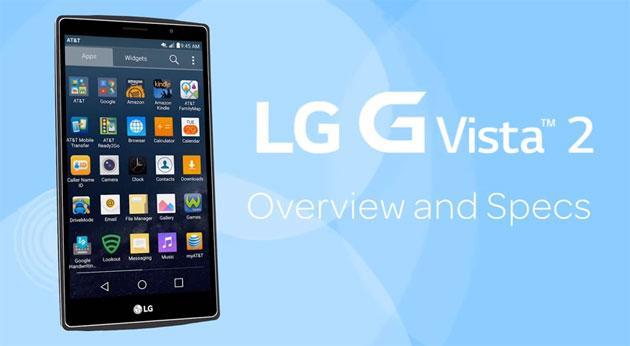 LG G Vista 2, phablet 5,7 pollici FHD octa-core con stilo