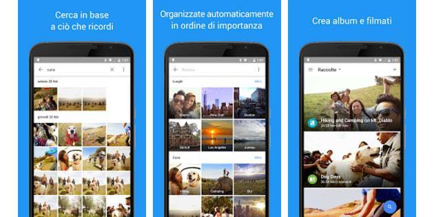 Google Foto un successo da 500 milioni di utenti