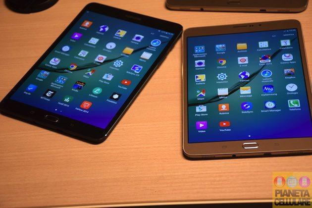 Samsung Galaxy Tab S2 8 e 9,7 pollici, prime impressioni dei nuovi Tablet Premium