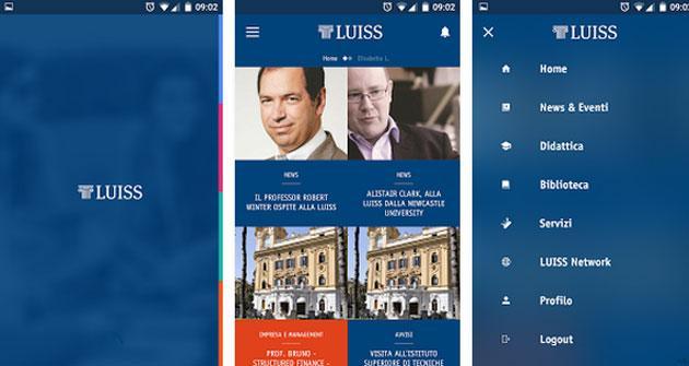 Luiss app, universita' Luiss a portata di smartphone