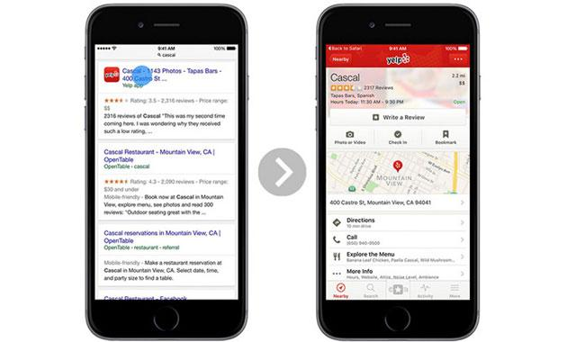 Google, su iOS 9 arriva la Indicizzazione dei Contenuti delle App