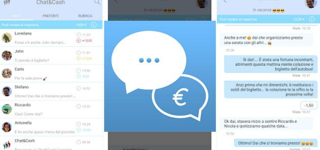 Chat and Cash, app utile ma poco diffusa
