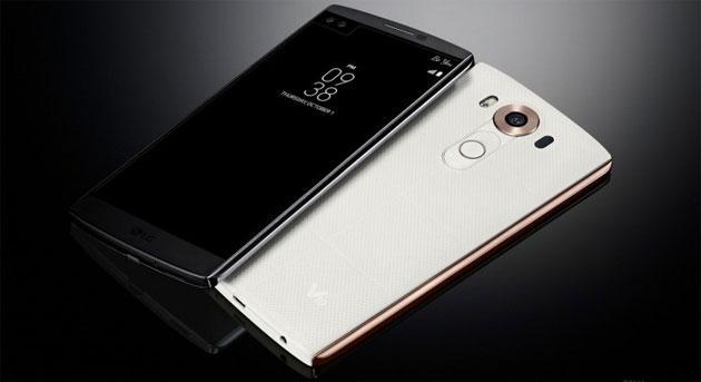 LG presenta V10, phablet con secondo display e due fotocamere frontali