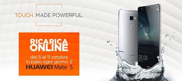 Wind, concorso Ricarica Online e Vinci Huawei Mate S