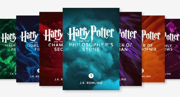 Harry Potter, Edizioni enhanced dei 7 libri disponibili su Apple iBooks