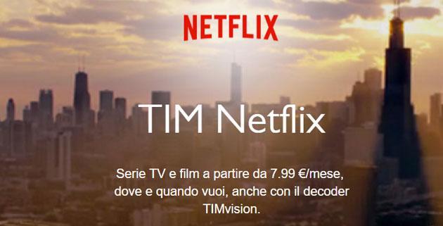 TIM Netflix: Offerta, Prezzi e Dettagli