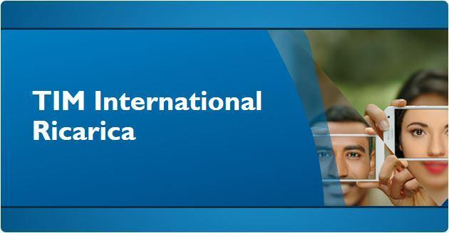 TIM International Ricarica, 5 euro omaggio ogni 10 euro di ricarica