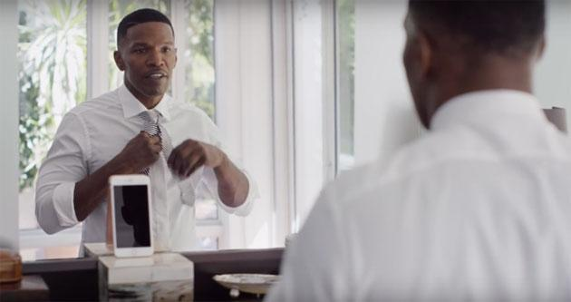 Apple iPhone 6s, nuovi promo con Jamie Foxx